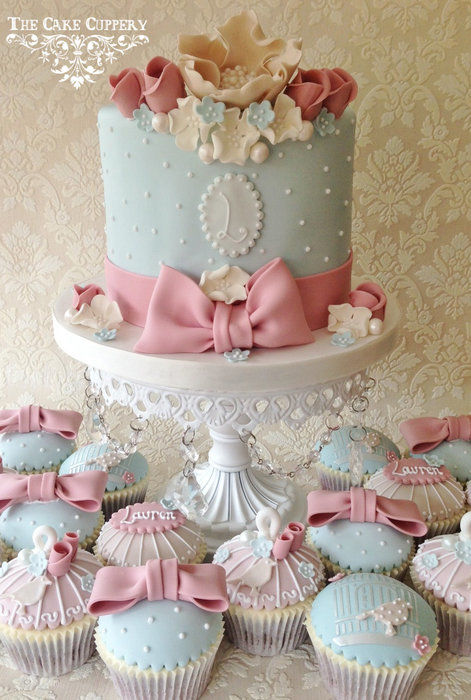 Wedding Cup Cakes Wallpaper iPhone
