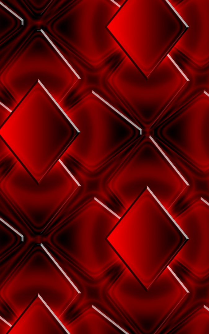 3D Abstract Red Wallpaper iPhone