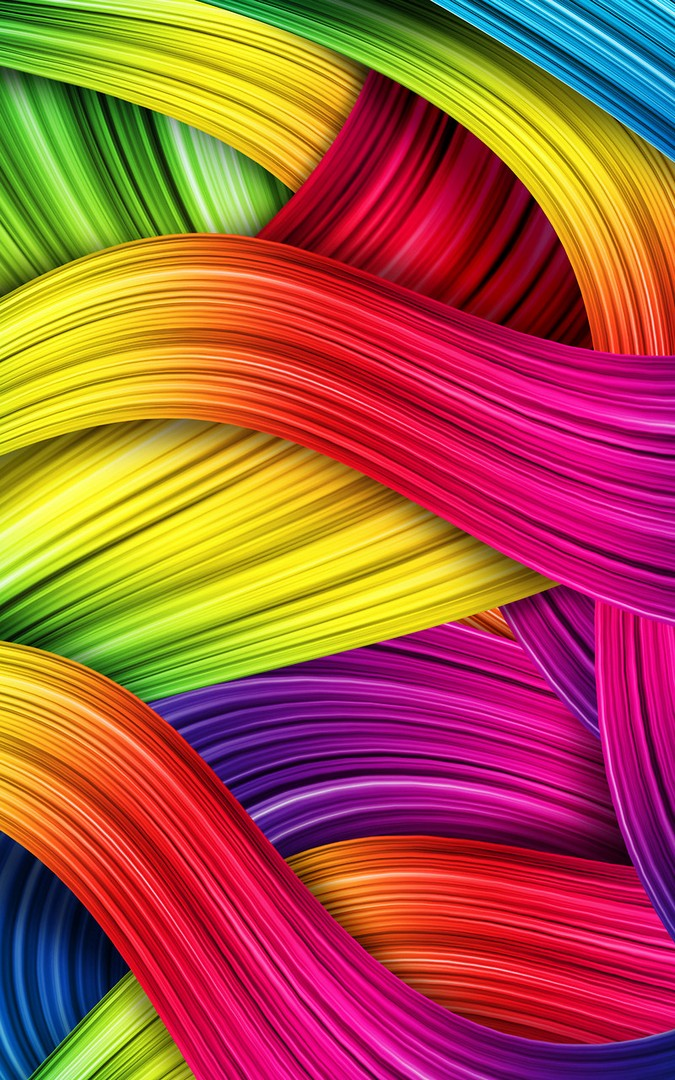 3D Colorful HD Wallpaper iPhone