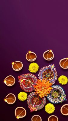 Beautiful Diwali Wallpaper iPhone