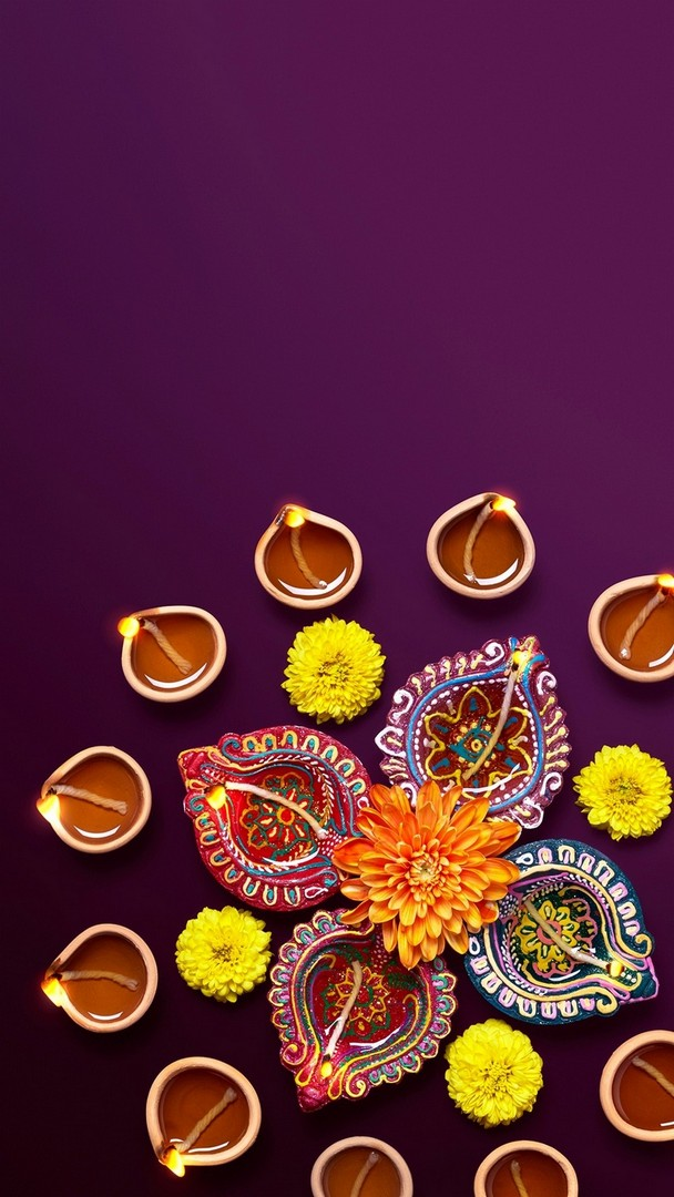 Beautiful Diwali Wallpaper iPhone resolution 608x1080