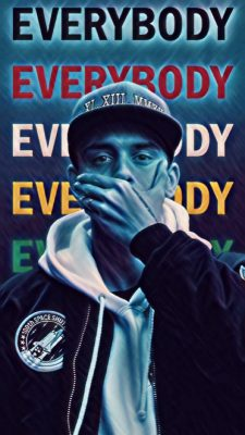 Logic Rapper iPhone Wallpaper