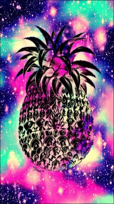 Pineapple Cute Girly Iphone Wallpaper