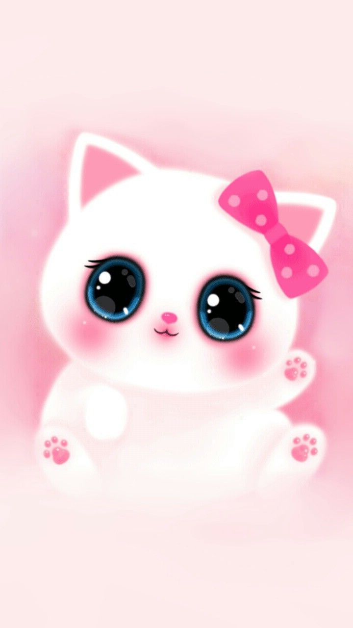 Pink Cute Girly Cat Melody Iphone Wallpaper 2019 3d Iphone Wallpaper