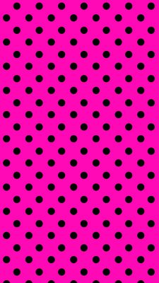 Polkadot Pink iPhone Wallpaper