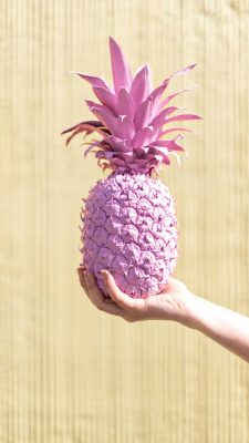 iPhone Wallpaper Pink Pineapple