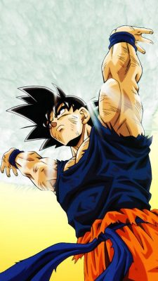 Goku Imagenes Wallpaper For iPhone with resolution 1080X1920 pixel. You can make this wallpaper for your iPhone 5, 6, 7, 8, X backgrounds, Mobile Screensaver, or iPad Lock Screen