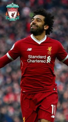 Mohamed Salah Wallpaper For iPhone with resolution 1080X1920 pixel. You can make this wallpaper for your iPhone 5, 6, 7, 8, X backgrounds, Mobile Screensaver, or iPad Lock Screen