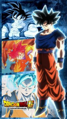 iPhone 8 Wallpaper Goku Imagenes with resolution 1080X1920 pixel. You can make this wallpaper for your iPhone 5, 6, 7, 8, X backgrounds, Mobile Screensaver, or iPad Lock Screen