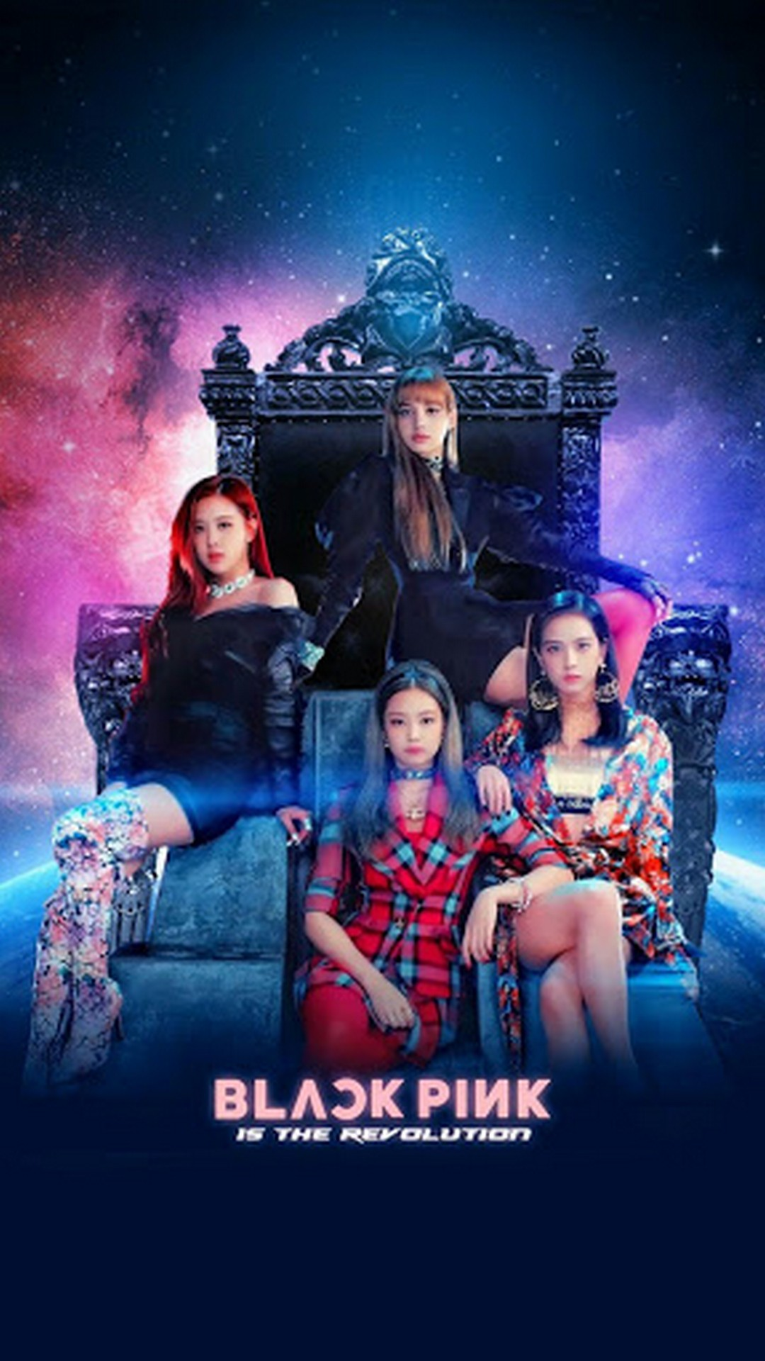 Blackpink Wallpaper iPhone with high-resolution 1080x1920 pixel. You can use this wallpaper for your iPhone 5, 6, 7, 8, X, XS, XR backgrounds, Mobile Screensaver, or iPad Lock Screen